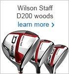 Wilson Staff D200 woods